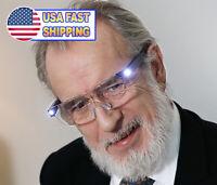 Magnifying Glasses LED Light Vision Eye Sight Enhancing 160% Magnifcation USB
