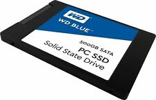 WD Blue PC SSD Solid State Drive 500GB - Brand New