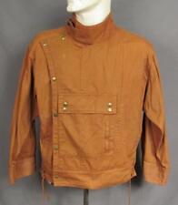 Vintage 1980s Aviator Pilots Flight Jacket 1940s Style Free Go Jeans Rare! Denim