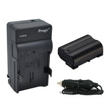 EN-EL15 ENEL15 Battery & Charger For Nikon D7100 D7000 D800 D800E D600 1 V1