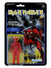 Iron Maiden Ornament The Number Of The Beast ReAction Figure Blue 15x23cm