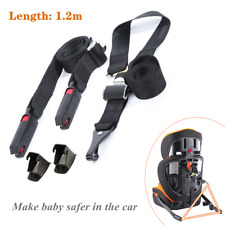 3 Point ISOFIX Latch Belt Strap Connection Tape Car Safety Baby Toptether Seat