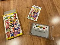 PRIME GOAL 3 Boxed/Complete JAPAN Ver Super Famicom SFC Nintendo SNES