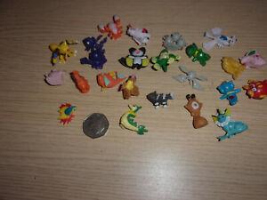 joblot pokeman miniture figures approx 24