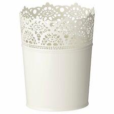 SKURAR Vaso da fiori metallo interno  DA ESTERNO VASO DI FIORI 17cm IKEA
