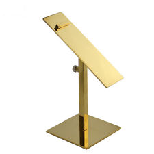 10PCS Gold Stainless Steel Shoe Display Stand Holder Racks General X05
