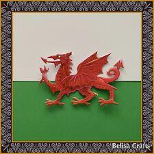 Welsh Dragon Die Cuts X 4