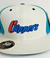 Vintage Logo Los Angeles Clippers Stall and Dean Cap Hat LA New With Tags 7 7/8