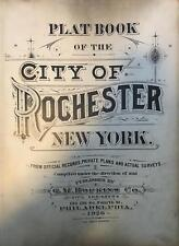 1926 CITY OF ROCHESTER NY TITLE PAGE G.M. HOPKINS ATLAS MAP