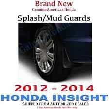 Genuine OEM Honda Insight Splash Guard Set 2012-2014