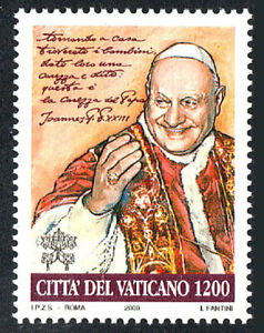 Vatican 1166, MNH. Beatification of Pope John XXIII, 2000