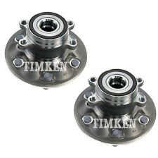 Pair Set 2 Front Timken Wheel Bearing Hub Kit for Chevy Colorado GMC Canyon 4WD