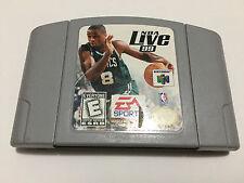 NBA Live 99 (Nintendo 64, 1998) Tested