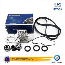 Timing Belt Kit Water Pump w/ Tensioner Pulley Fit 03-09 Honda Accord Acura 24V
