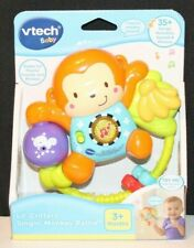 Vtech Lil' Critters Singin' Monkey Rattle Phrases Music Gift Baby Toddler Toy