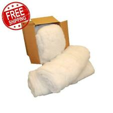 Premium Polyester Filler Pillow Stuffing Fiber 10 Lbs Fiberfill Hypoallergenic