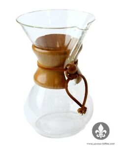 CHEMEX 6-CUP CLASSIC SERIES GLASS COFFEE MAKER NEW
