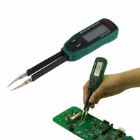 Tweezers Smart SMD RC Resistance Capacitance Diode Meter Tester Auto Scan YK