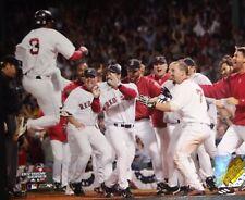 BOSTON RED SOX CELEBRATE WINNING GAME THREE 2004 ALDS 8X10 PHOTO