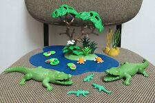 Playmobil - Animales Jungla Selva Safari - Cocodrilos - 3229 - (COMPLETO)