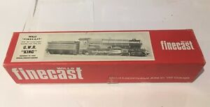 Wills Finecast OO gauge GWR King Locomotive Kit with wheels, chassis, motor.