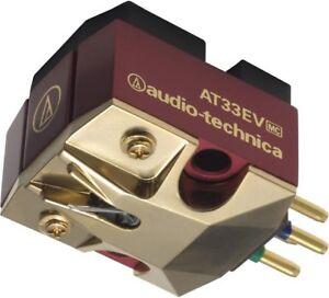 Audio Technica AT33EV MC Phono Cartridge Turntable Quality Stylus Needle