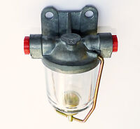 Classic Car High Flow AC Delco Type Fuel & Water Trap Glass Bowl Filter, C13681