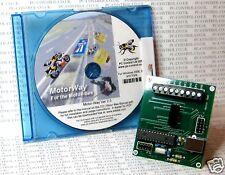 Motorbee: USB Controlador de Motor de corriente continua para PC aficionado