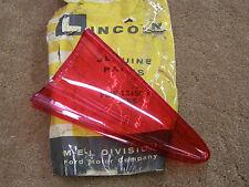 NOS OEM Ford 1958 Mercury Tail Light Lamp Lens