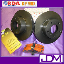 NISSAN NAVARA D22 4WD ALL - RDA Front Brake Disc Rotors & GP MAX Pads