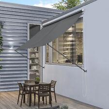 pro.tec® Markise Sonnenschutz Beschattung Terrasse Garten Windschutz Au�Ÿen Rollo