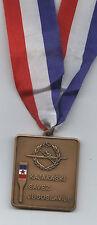 Orig. médaille bronze/3. place canoe championnats du monde belgrad 1975!!! rarity