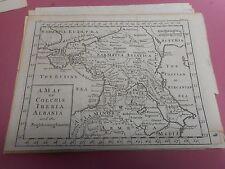 100% Original Colchis Iberia Arménie map by Clark de Lisle C1780/S très bon état