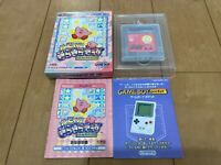 GameBoy Kirby's Star Stacker nintendo Japan with BOX and Manual
