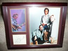 The Who - Framed autographed piece