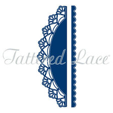 Tattered Lace Cutting Dies  Essentials SHELL BORDER & EDGE ETL184  Stephanie  *