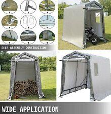 🎪Waterproof Outdoor Shelter RollUp Door Patio Storage Shed Portable Garage Tent