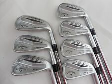 New Callaway Apex Pro Forged Iron Set 4-PW KBS tour V Stiff flex Steel Irons