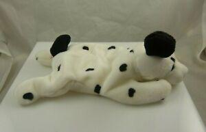 Ty Dotty birthday October 17, 1996 puppy dog white black beanie babies