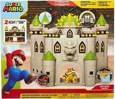 World of Nintendo ~ BOSWER'S CASTLE PLAYSET w/BOWSER FIGURE ~ JAKKS