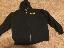 Hanes Black Associated Training Service Network Heavy Equipment Hoodie XL 46-48