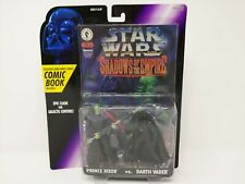 Star Wars Shadows Of The Empire DARTH VADER vs XIZOR 2 Pack POTF2 SOTE 1996 MOC