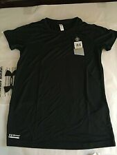 Under Armour 1291477 Women's Tactical Crew Neck T-Shirt, Size SM/P, Black, NWT