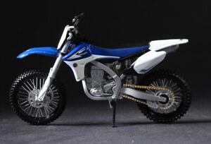 Maisto YAMAHA YZ450F Blue Motorcycles 1/12 Diecast Model