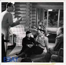George Cukor directs Greta Garbo Melvyn Douglas VINTAGE Photo Two-Faced Woman