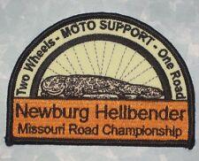 Newburg Hellbender Missouri Road Championship Patch