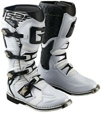 GAERNE REACT WHITE MX BOOTS, MOTOCROSS, ENDURO, TRAIL & OFF ROAD BOOTS