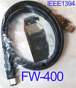 NEW 6' Ft FW400 Firewire IEEE-1394a Male 6-Pin Serial Data Cable Scanner M Cord
