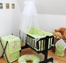 BABY Canopy / copertura per A DONDOLO neonato / OSCILLANTE Cristalle / CRADLE / culla in vimini bianco