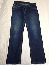 Mens CHEAP MONDAY Dark Wash Jeans Sz 29/32 FIVE Denim Button Fly